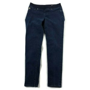 Big Star Skinny Dark Wash Pull On Jeans
